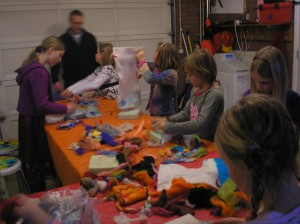 MeerCrea Kinder Workshop Wol vilten 1