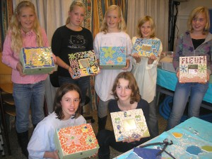 MeerCrea Kinder Workshop Mozaïeken 2