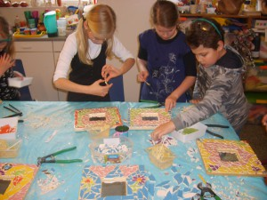 MeerCrea Kinder Workshop Mozaïeken 3
